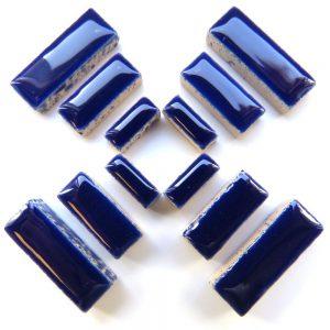 Ceramic Rectangles Indigo H19