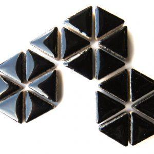 Ceramic Triangles Black H1