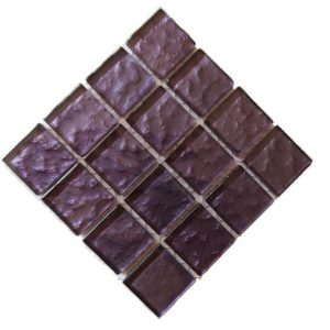 Metallic Texture Dark purple Mosaic