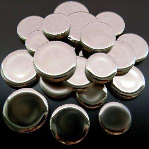 Round Discs Silver H02