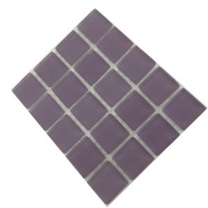 frosted lilac mosaic