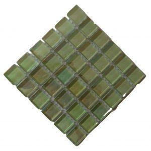 Ice Crystal Pistachio Mosaic tile