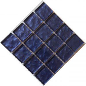 Metallic Texture Lavender Mosaic tile