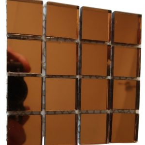 Burnt Copper Mirror Mosaic