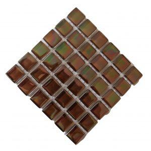 pearl chestnut mosaic tile