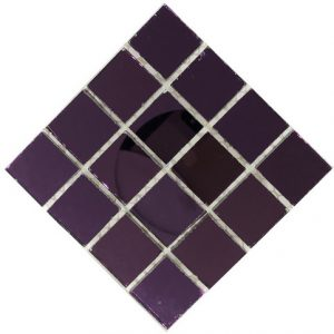 purple mirror mosaic