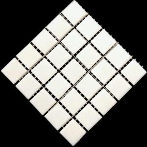 river snow white mosaic