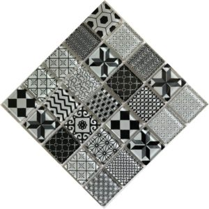Delft Black Mosaic