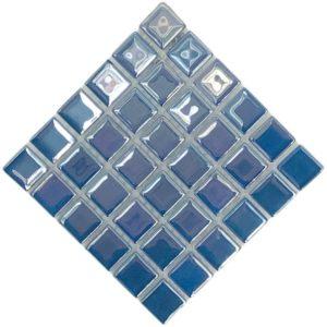 pearl water blue mosaic